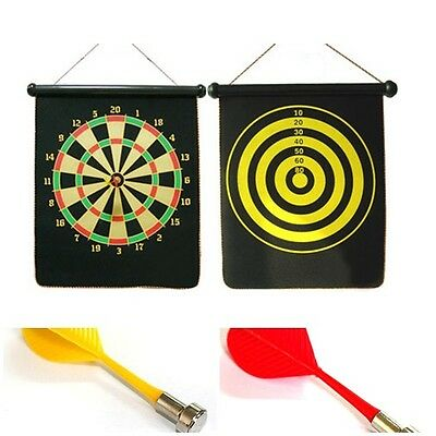 Magnet Dartboard Magnetic Darts Home fitness 12' safety darts With Darts 2 Side