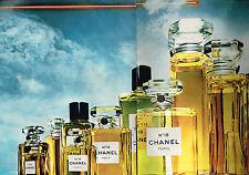 PUBLICITE  1972     CHANEL  parfum n°19   ( 2 pages)