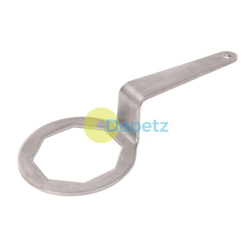 Cranked Immersion Heater Spanner Corrosion Resistant Galvanized Steel 121mm