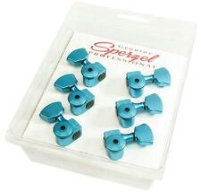 Sperzel Trimlok Locking Guitar Tuners 3x3 Trim-Lok BLUE ANODIZED