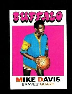 NM-1971-Topps-Basketball-99-Mike-Davis