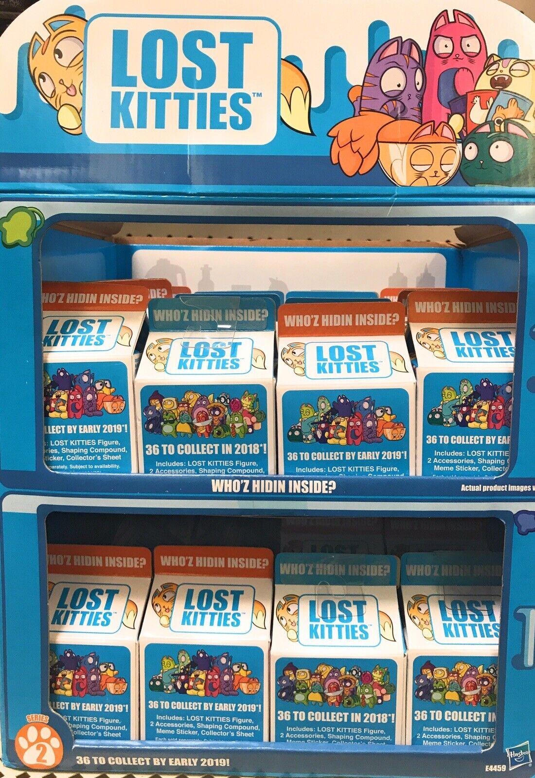 Lost Kitties Blind serie 2 Lote de 18 Box Paquete recoger todos los 36