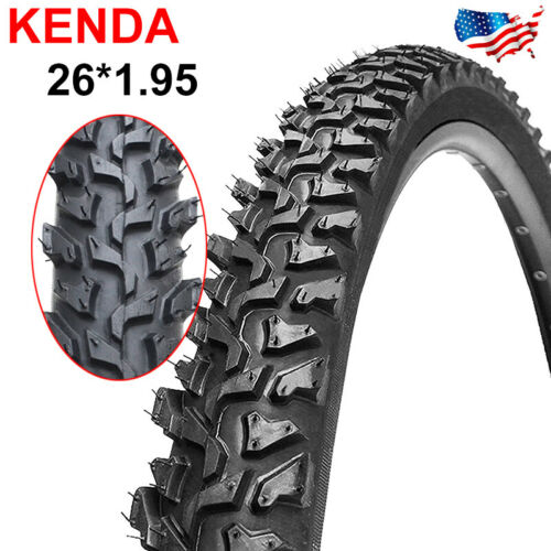 KENDA Mountain Bicycle Tire 26*1.95 inch Thicken Durable Cross-Country Bike Tyre