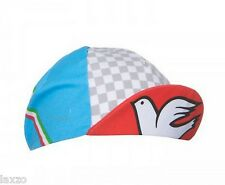 "Cinelli ""Columbus Italia"" Cotton Bike Cycling Cap Italian Made Retro Fixie Track"
