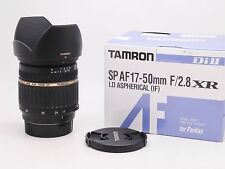 Tamron 17-50mm F/2.8 LD Di-II SP A16 XR Asp AF IF Lens For Pentax * Mint *