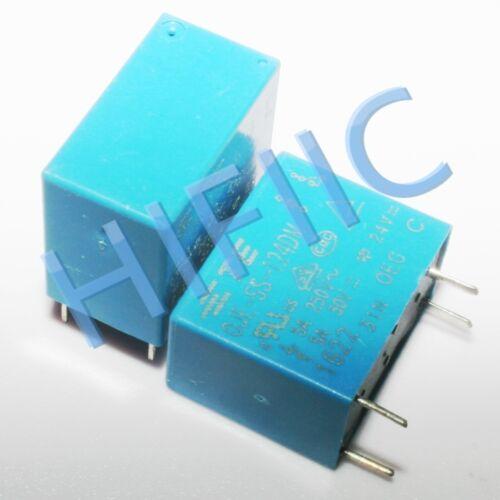 1PCS//5PCS OJE-SS-124DM 24VDC Relay