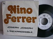 NINO FERRER Joseph Joseph / L inexpressible CBS 5754 PROMO