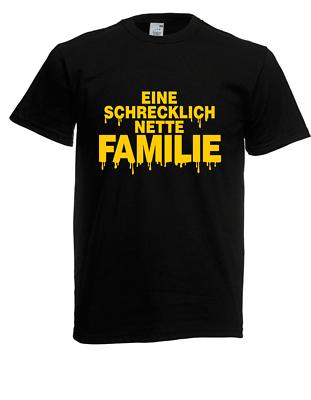 GüNstiger Verkauf Herren T-shirt Eine Schrecklich Nette Familie Bis 5xl