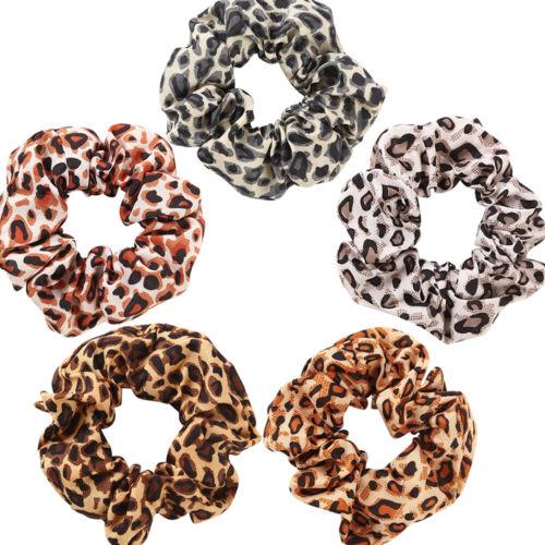 10//20Pcs Women Elastic Hair Scrunchies Velvet Hair Bands Scrunchy Rope Ties Gift