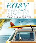 Easygoing Crosswords: 72 Relaxing Puzzles by Randolph Ross (Spiral bound)