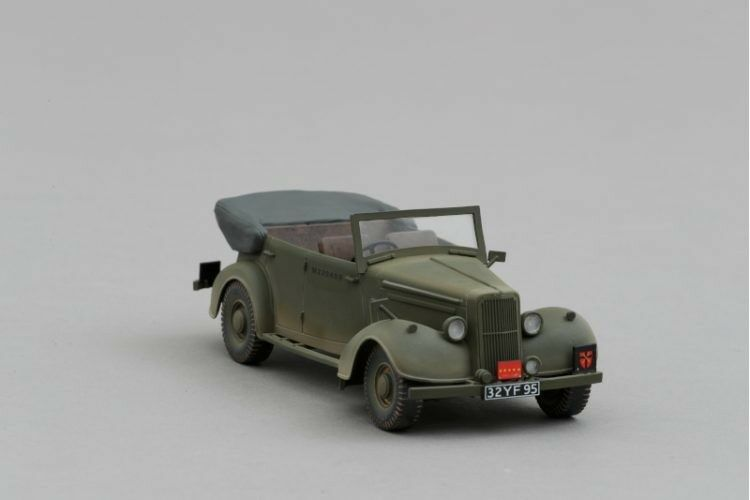 THOMAS GUNN MINIATURES GB011B ALLIED STAFF CAR   NORMANDY NORMANDY