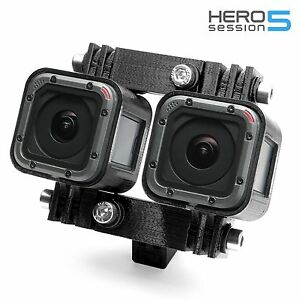 Variable-3D-Connector-Tripod-Mount-f-GoPro-HERO-5-Session-Stereoscopic