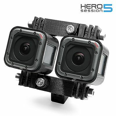 Variable 3d Connector Tripod Mount F Gopro Hero 5 Session Stereoscopic Ebay