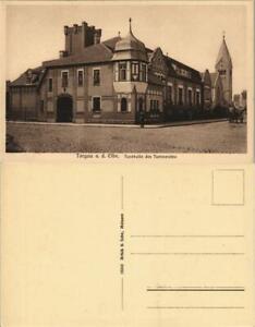 Ansichtskarte Torgau Turnhalle des Turnvereins 1913