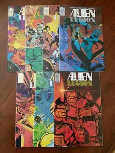 Alien-Legion-vol-2-1-6-amp-8-1987-Epic-Comics-Lot-of-7-NM-9-2