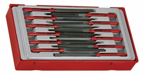 Teng Tools TTNF12-05Round Needle File 160mm Length 1x SINGLE FILE