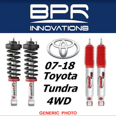 Front Pair Shocks Struts for 2007-2018 Toyota Tundra 2WD 4WD