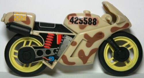 Lanard CORPS Military Vehicle Motorcycle Tan Brown Yellow Red Star