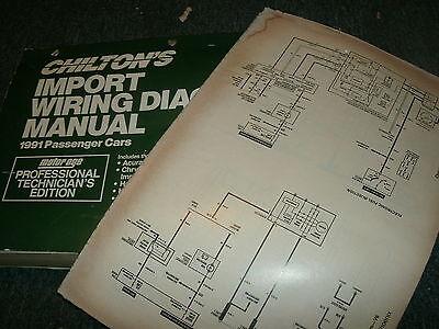 1991 NISSAN 240SX NISSAN 240 SX WIRING DIAGRAMS SCHEMATICS
