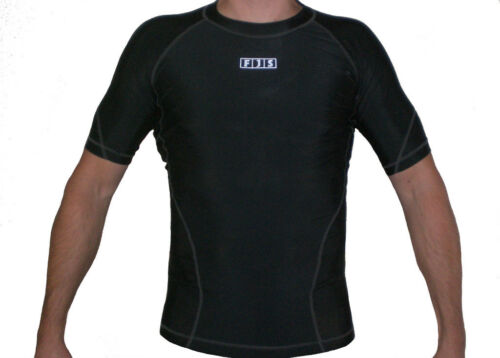 MENS BASE LAYER CYCING RUGBY RUNNING SPORTS GYM COMPRESSION WORKOUT TOP T-SHIRT
