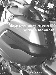 bmw r1200rt r1200gs r1200gsa adventure wc 2014 on service workshop rh ebay com 2014 bmw r1200rt owners manual 2015 BMW R1200RT