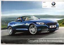 BMW Z4 Accessories 2009-10 UK Market Sales Brochure