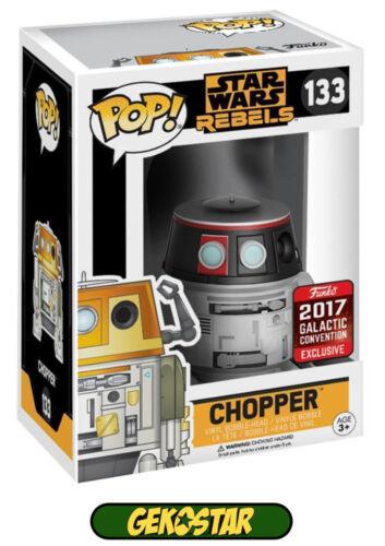 Chopper Vinyl Star Wars Convention 2017 Funko POP