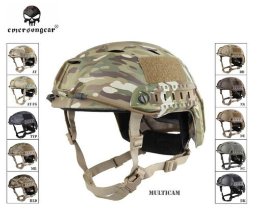 EMERSON BJ Type Tactical Helmet Military Airsoft Hunting Army Helmet EM5659