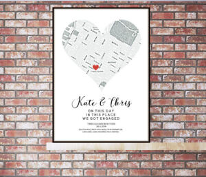 Personalised-Map-Location-Print-Gift-Birthday-Wedding-Engagement-New-Home