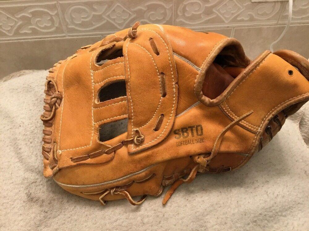 Nokona Pro-Line Campo-Rite sbto 12.75  béisbol Softbol Guantes Left Hand Throw