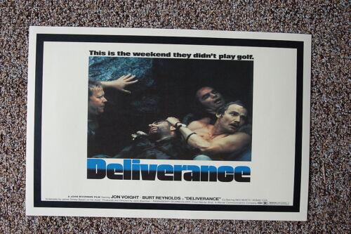 Deliverance Lobby Card Movie Poster#2 Jon Voight Burt Reynolds