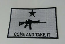 MOLON LABE Gun rights 5a large size biker Patch AR15 rifle COME AND TAKE IT