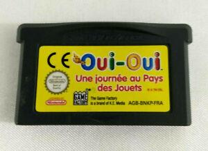 Jeu-Game-Boy-Advance-GBA-en-loose-Oui-Oui-Une-journee-au-Pays-des-Jouets-FRA