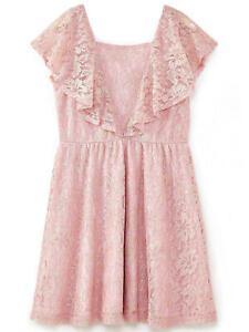 Yumi Metallic Antique Lace Dress