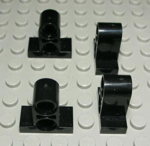 1404 Lego Technic Verbinder 2x Steck Pin Loch Schwarz 4 Stück