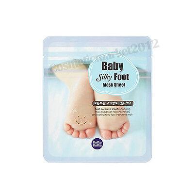 Holika Holika Baby Silky Foot Mask Sheet 1pair 18ml Free gifts