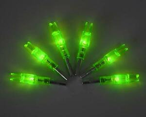 9PCS-Green-Lighted-Nocks-4mm-Cut-Archery-Hunting-LED-Lighted-Arrow-Nocks