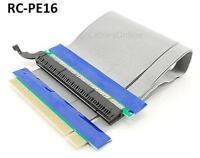 7 Pci-e Express 16x Riser Card Flexible Ribbon Cable Extender From Motherboard