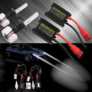 35W-55W-HID-Xenon-Slim-Light-Ampoules-Kit-H1-H3-H7-H9-9005-HB3-9006-HB4-Ballast