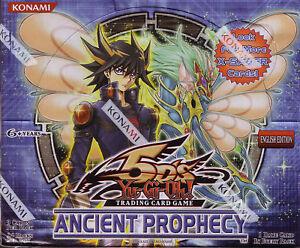 YUGIOH-BOX-Antica-Profezia-24-Buste-NUOVO-SIGILLATO-Busta-Bustina-Booster