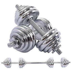66LB-Dumbbell-Adjustable-Weight-Set-Fitness-GYM-HOME-Cast-Full-Steel-Dumbbell-OP