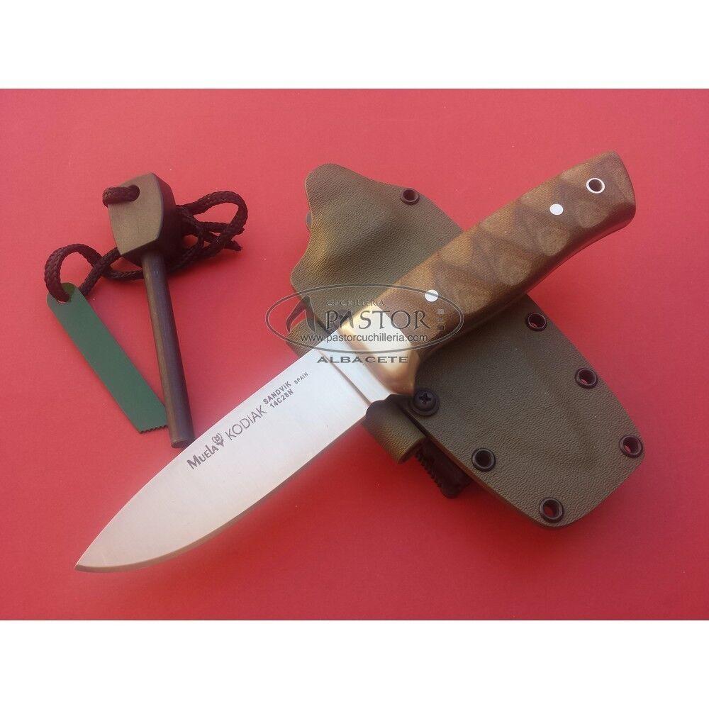 Cuchillo Muela Kodiak 10GK Canvas Micarta - Knife Couteau - Messer - Couteau Knife - Coltello 3d9019