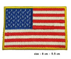 USA-Flag-Embroidered-Iron-Sew-On-American-Patch-United-States-of-America-Badge