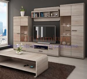 Image Is Loading Tv Wall Unit 034 Link Set Of