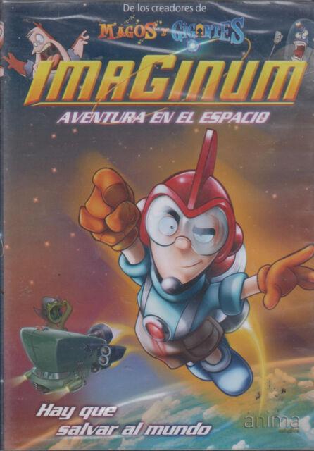 DVD - Imaginum NEW Aventura En El Espacio Anima FAST SHIPPING !