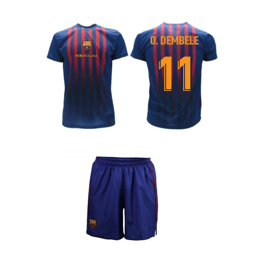 Set Dembele 2019 Barcelona offizielle Hose Barcelona 2018 FCB Trikot Hose offizielle abde44
