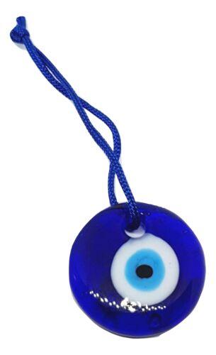 3 cm LUCKY verre suspendu turc evil eye nazar boncuk grec Charm Sun Catcher