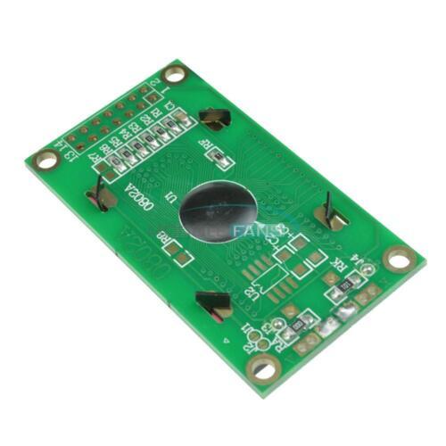 Amarillo//Azul 0802 8x2 caracteres pantalla LCD Módulo 5V LCM F Raspberry Pi Arduino