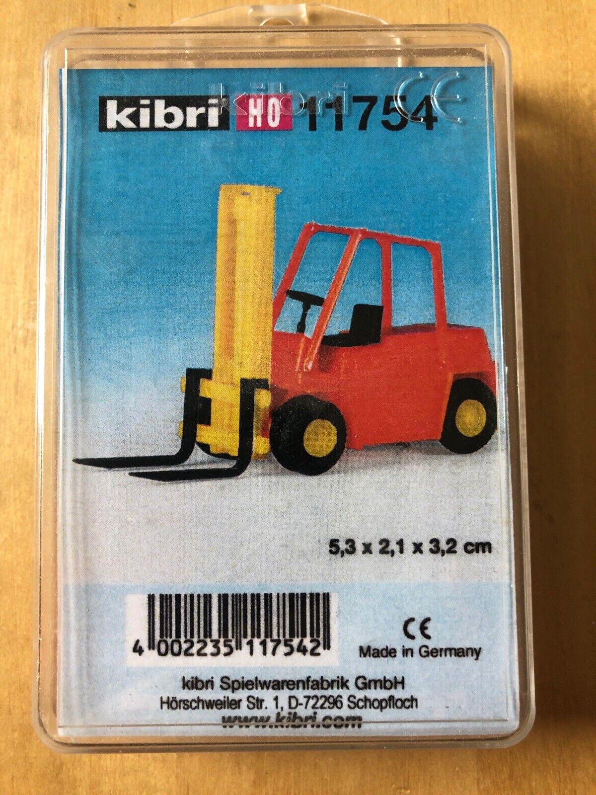 kibri 11754 Spur H0 STEINBOCK Gabelstapler #Neu in OVP#
