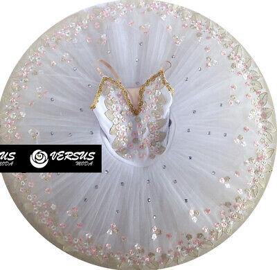Fornitura Vestito Tutù Saggio Danza Ragazza Donna Woman Girl Ballet Tutu Dress Danc153